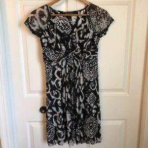 INC Woman's Small Black & White Dress